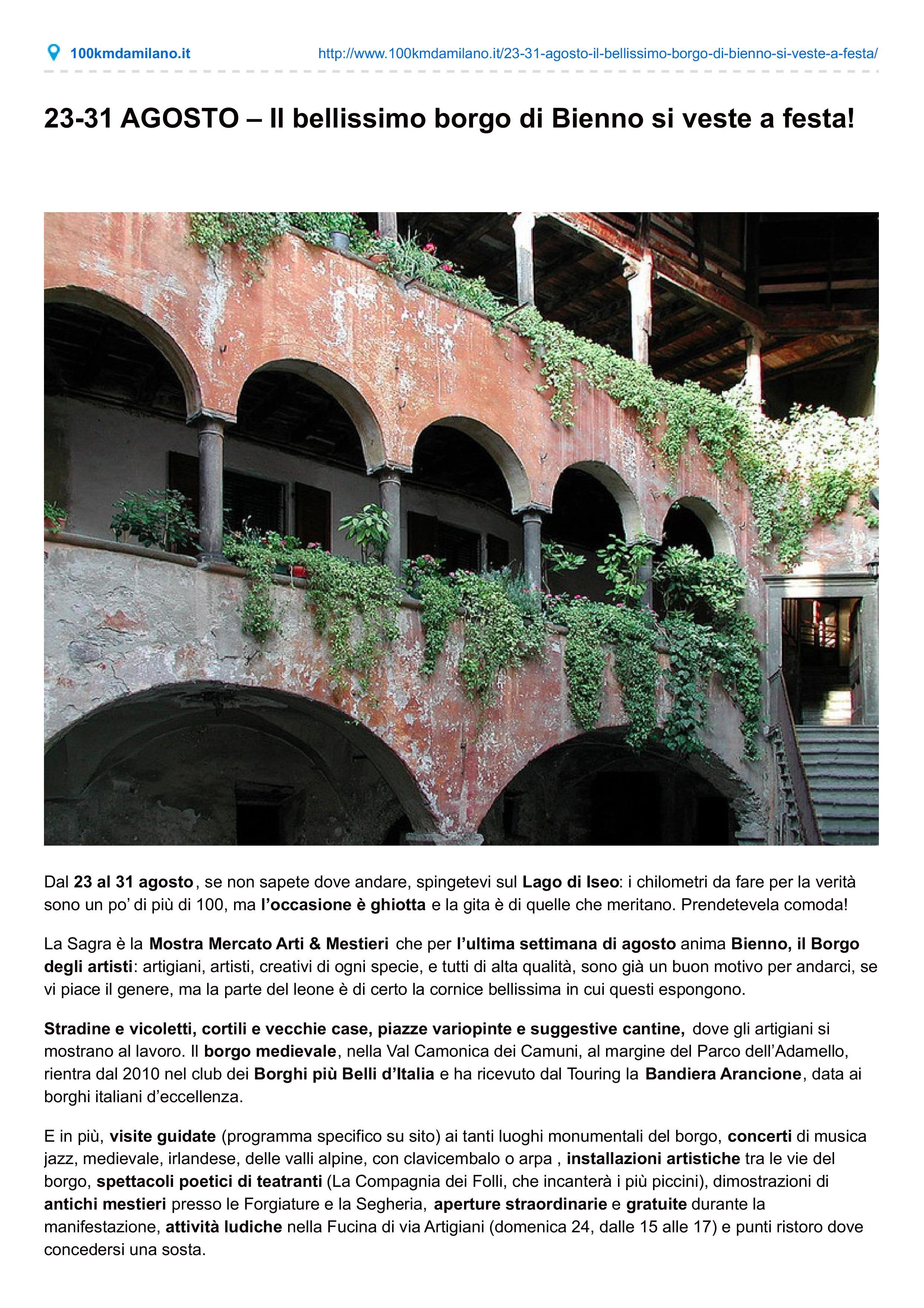 www.100kmdamilano.it pag.1