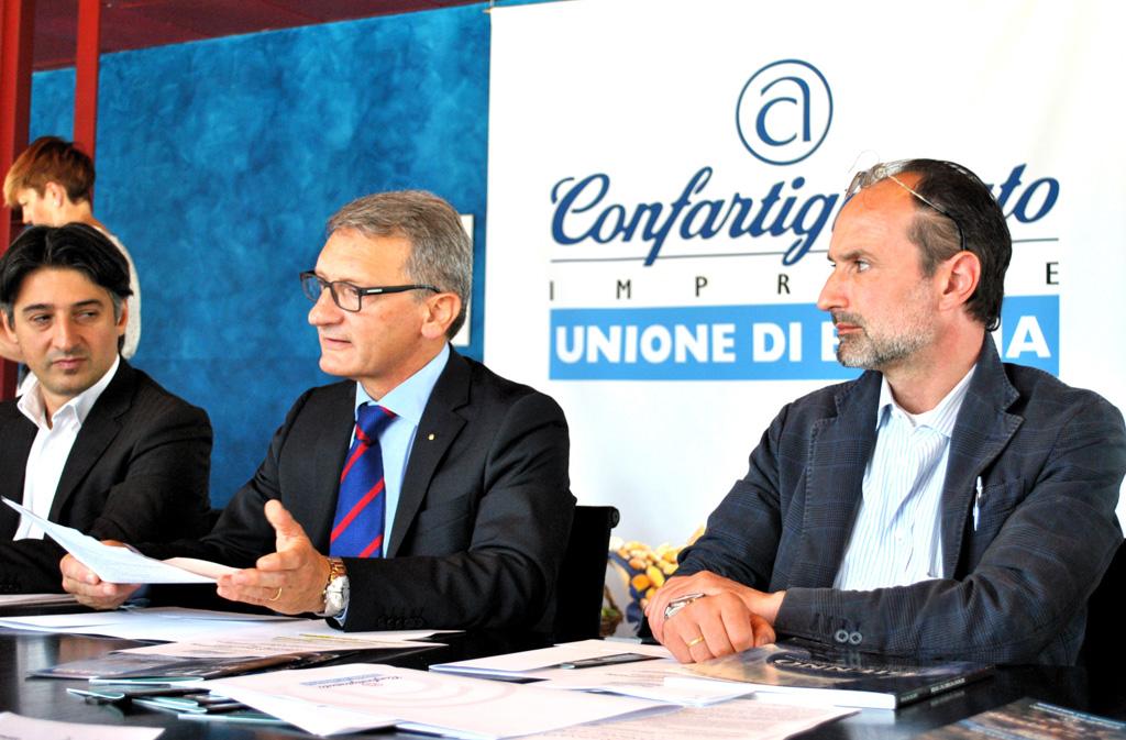 Il Presidente della Confartigianato di Brescia, dott. Eugenio Massetti