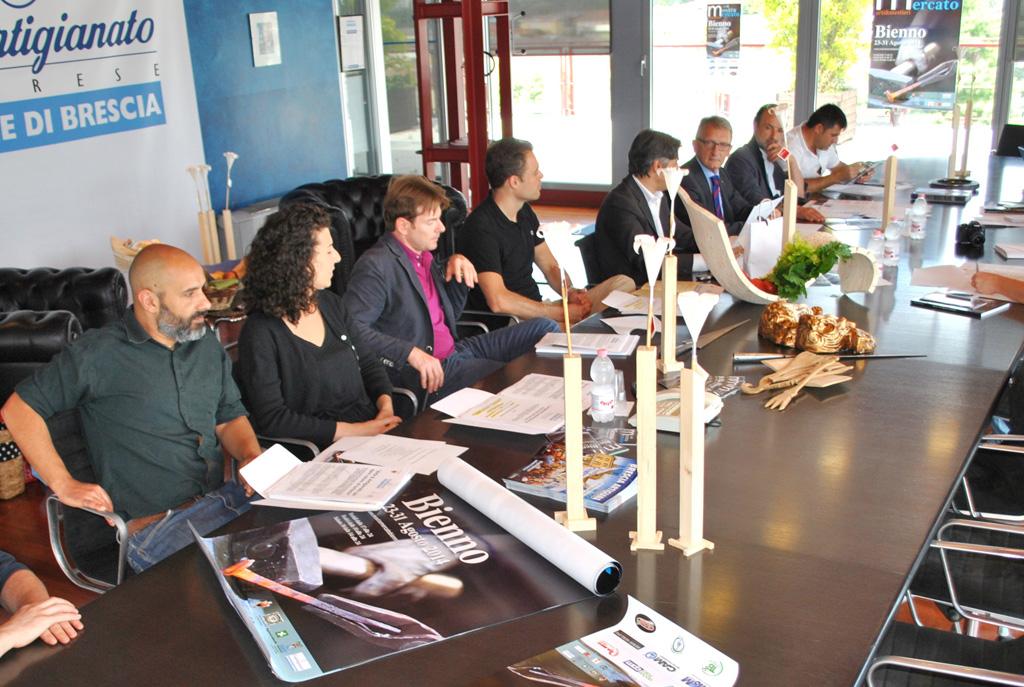 Conferenza stampa 1 agosto 2014 presso Confartigianato di Brescia