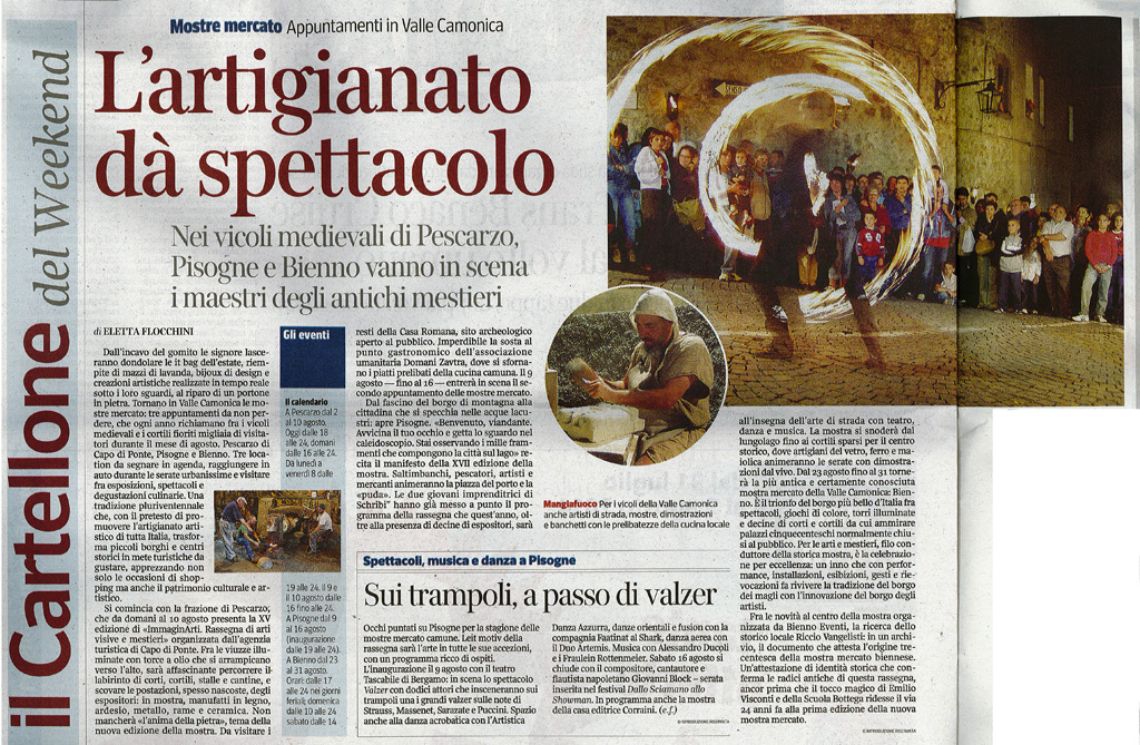 Corriere della sera - Venerdì 1 agosto 2014