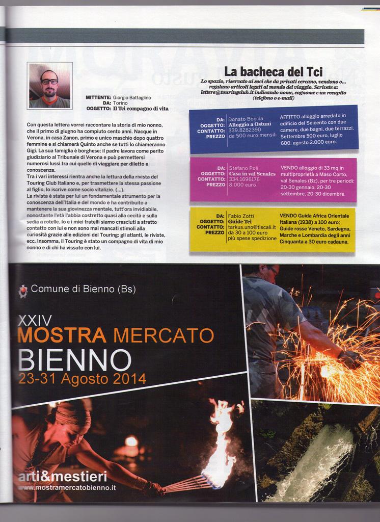 TCI Mostra Mercato - luglio-agosto 2014