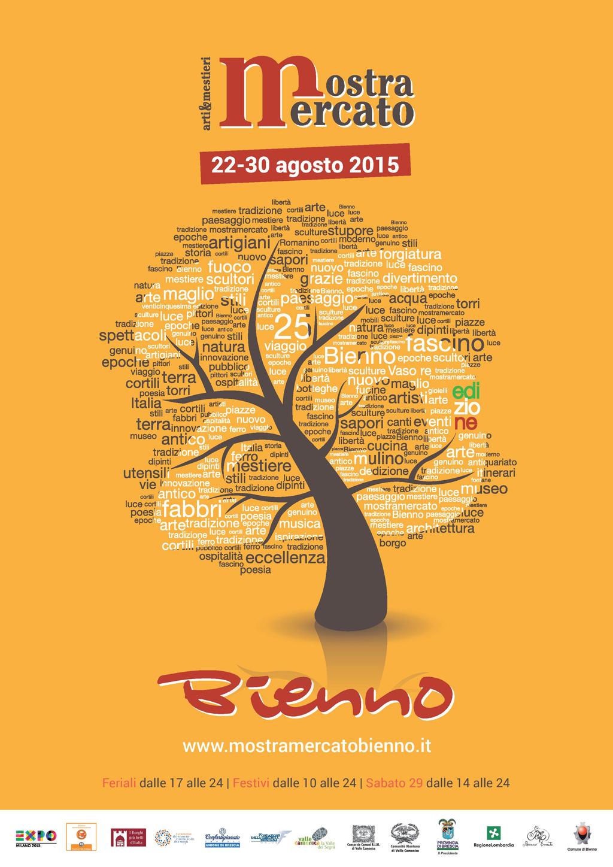 Locandina Mostra Mercato Bienno 2015