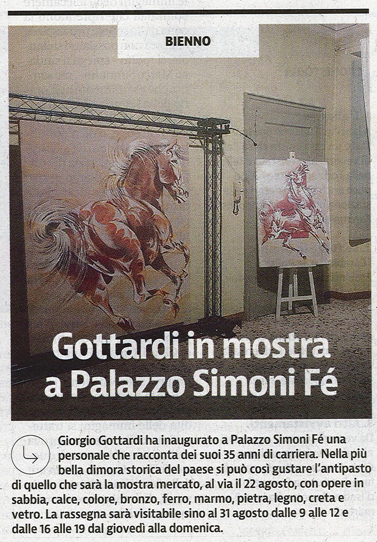 Giornale di Brescia - mercoledi 4 agosto 2015