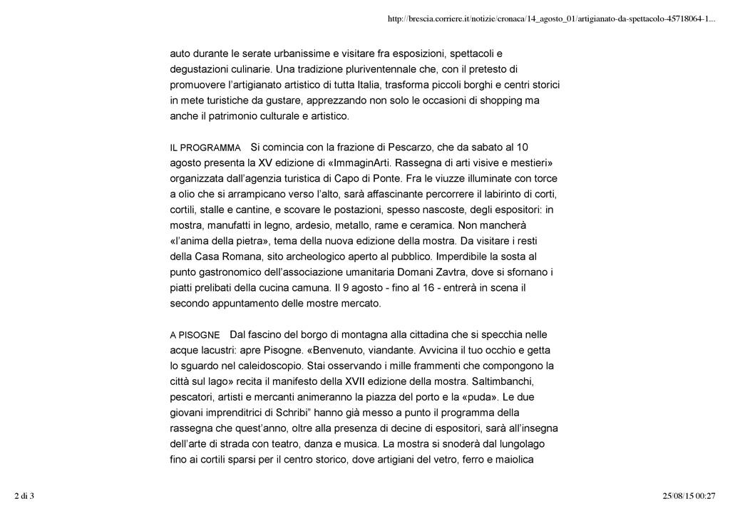 Brescia.corriere.it - sabato 1 agosto 2015 pag.2/3