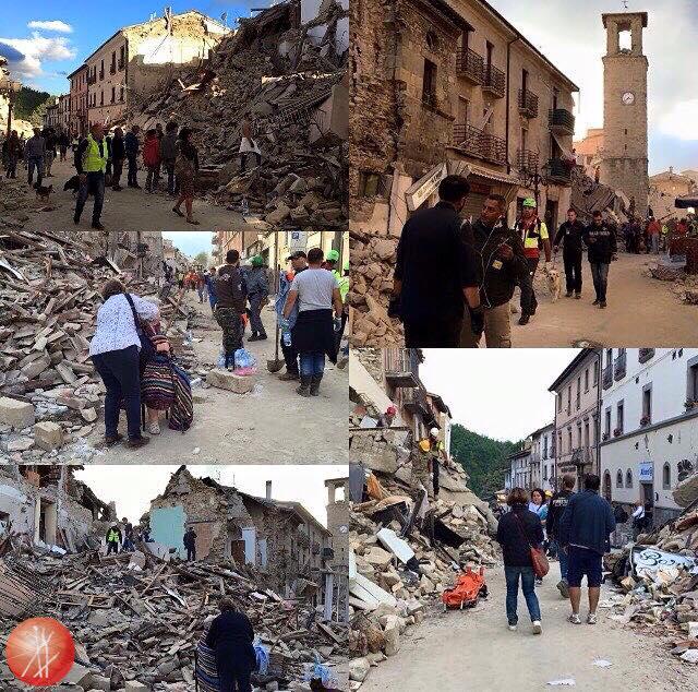 Terremoto Lazio, Umbria e Marche