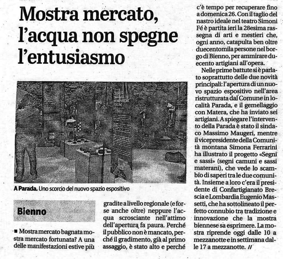 Giornale di Brescia - sabato 18 agosto 2018